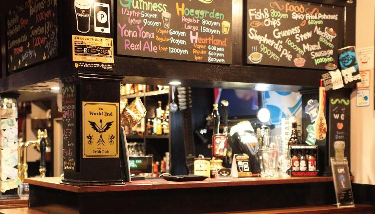 107_The World End -Irish Pub-3周年 & アローズ3店舗周年記念オリジナルビール(うしとらブルーイング)開栓!!_770