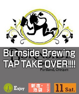 Burnside Brewing TAP TAKE OVER!!!!